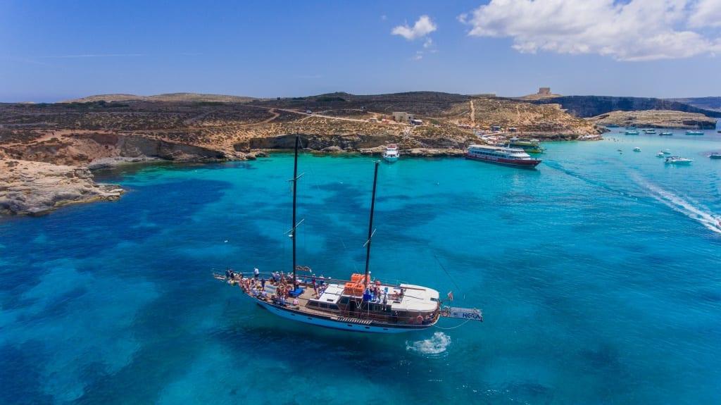 Hera Cruises - Boat Trips around Malta, Gozo & Comino Blue