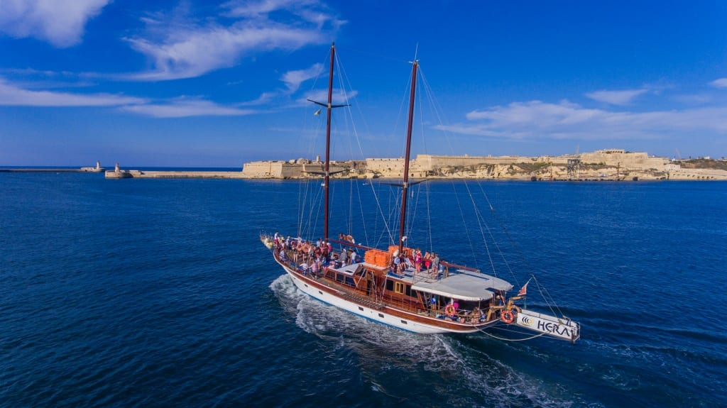 Hera Cruises - Boat Trips around Malta, Gozo & Comino Blue